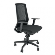 SEDIA ERGONOMICA LIGHT NERA           DL