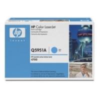TONER Q5951A CIANO ORIGINALE - HP LASERJET 4700
