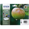 CARTUCCE T1295 MULTIPACK (B, C, M, Y) ORIGINALE - EPSON STYLUS BX305/SX420/320/BK525/SX620/SX425/BK925
