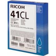 CARTUCCIA GEL CIANO TYPE GC41CL ORIGINALE - RICOH AFICIO SG 2100N/3110DN/3110DNW