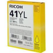 CARTUCCIA GEL GIALLO TYPE GC41YL ORIGINALE - RICOH AFICIO SG 2100N/3110DN/3110DNW