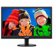 "MONITOR PHILIPS LCD LED 18.5"" WIDE 193V5LSB2/10 5MS 0.30 1366X768 700:1 BLACK VGA VESA"
