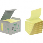 6 PZ CANARY POST IT RECY