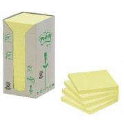 16 POST IT RICICLATI 76X76 GIALLO NAT