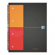 NOTEBOOK OXFORD A4 QUAD 5MM