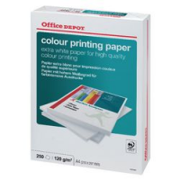 Office Depot Colour Printing carta A4 risma/250 ff 120g cie 170