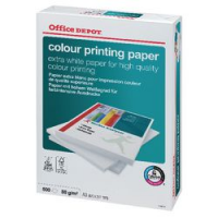 Office Depot Colour Printing carta A3 risma/500 ff 80g cie 170