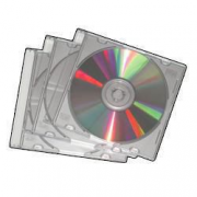 25 CUSTODIE CD/DVD METALLIC