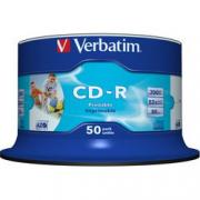 CF50 CD-R VERBATIM 700MB 80M 52X PRINT