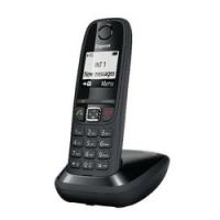 TELEFONO CORDLESS NERO GIGASET AS 405