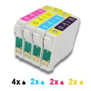 CARTUCCIA T0712 CIANO COMPATIBILE/RIGENERATO - EPSON D78/DX4000/DX4050/DX5000/DX6000/DX6050/DX7000F-S20