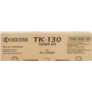 TONER TK-130 NERO ORIGINALE - KYOCERA FS-1300D/1300DN