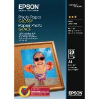 Epson carta Fotografica Lucida Inkjet Glossy inkjet A4 risma/20 ff 200g - C13S042538