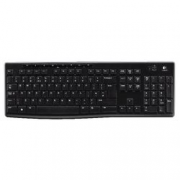TASTIERA WIRELESS NERA LOGITECH K270