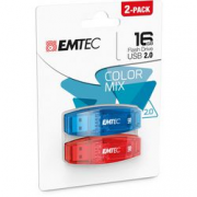 CF2 USB EMTEC 2.0 C410 COLOR MIX 16GB