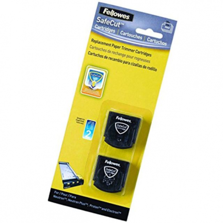 PACK 2 LAME DRITTE TAGLIERINE FELLOWES