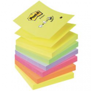 POST-IT Z-NOTE ASSORT70X76100F