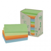 16 POST IT RICICLATI 76X127 PASTELLO