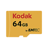 MICRO SDHC CARD KODAK 64GB CLASS10 U1