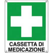 CART CASSETTA DI MEDICAZIONE 12X14.5C