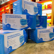 Conf. 50 pz mascherine disposable mask certificato n.6001/425/203072