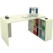 HOME-OFFICE CUBE 6 CASELLE BIANCO