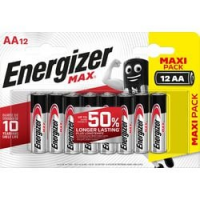CF12 BATTERIE AA ENERGIZER MAX ALK