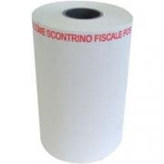 ROTOLO CARTA PER POS NON VALIDO COME SCONTRINO FISCALE LARGHEZZA 57MM DIAMETRO ESTERNO 40MM LUNGHEZZA 18M 10 PZ BPA FREE/FSC