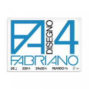 ALBUM DISEGNO 24X33 FABR RUVIDO 20FF