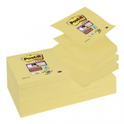 CF12 Z-NOTES CANARY POST-IT SS 76X76MM