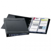 BUSINESSCARD RINGBINDER GO 400 CARDS