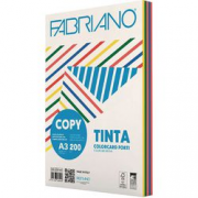 Fabriano Copy Tinta Assortiti Intensi cartoncini A3 risma/100 ff 200g